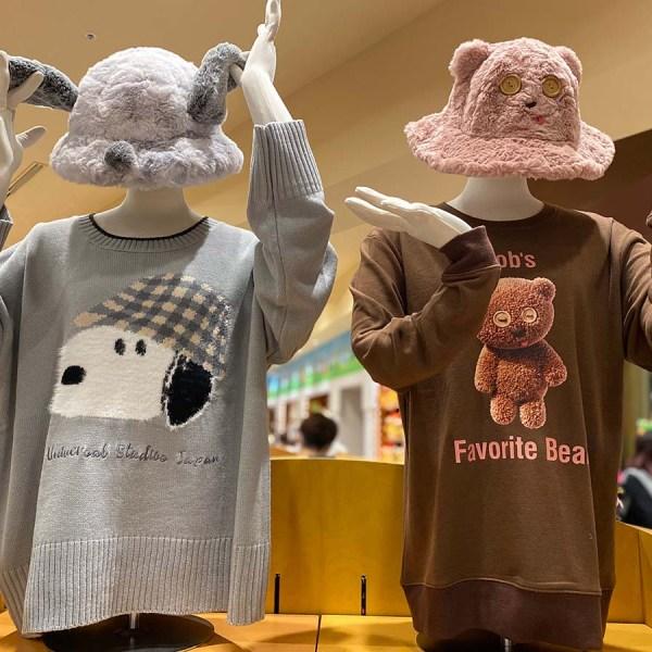 スヌーピー・ティム・セーター・帽子