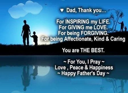 Inspirational Fathers Day Messages 2021