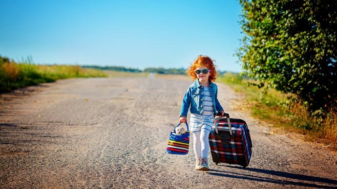 Séparation: mon enfant part en vacances sans moi.