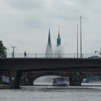 WPC - More than one bridge in Hamburg