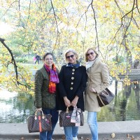 Louis Vuitton Speedy Treff mit den Mädels