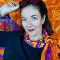 Violett und Orange - Outfits mit dem gewissen Etwas / ü30 Blogger & Friends