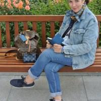 Geht der Jeans-Look Monochrom? Blogparade ü30 Blogger & Friends