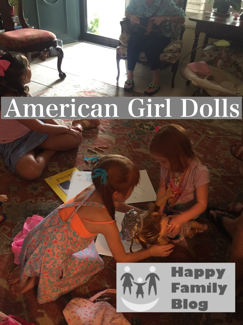 American Girl Dolls by Happy Family Blog