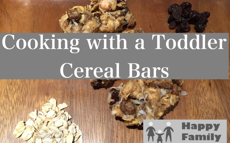Cooking with a Toddler: Cereal Bars
