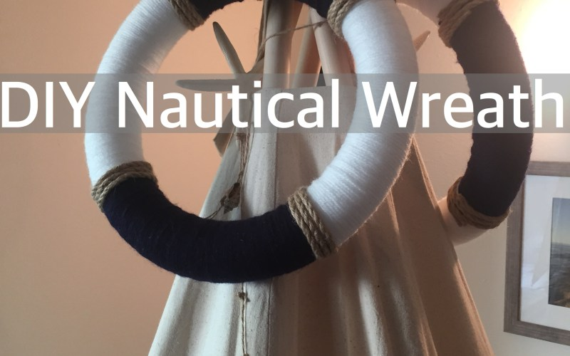 DIY Nautical Wreath by Happy Family Blog