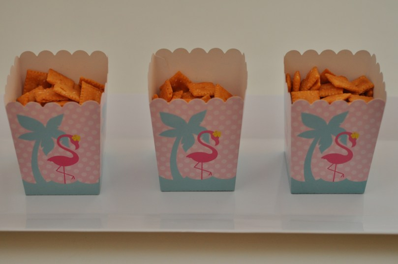 Flamingo Birthday Party, Pink and Navy by Happy Family Blog