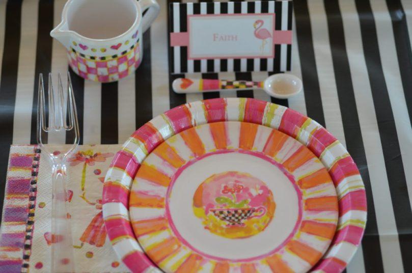 Black and White MacKenzie-Childs Birthday Tea Party