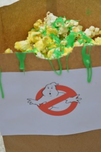 Ecto Slime Popcorn by Happy Family Blog
