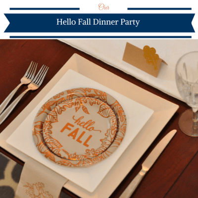 Hello Fall Dinner Party