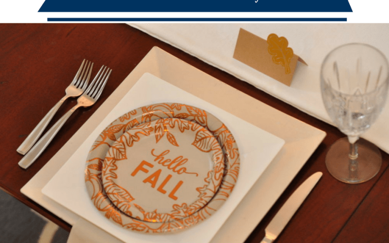Hello Fall Dinner Party by Happy Family Blog