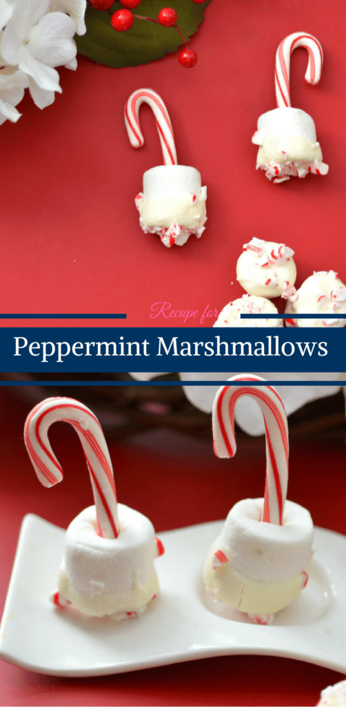 Candy Cane Marshmallow by Happy Family Blog