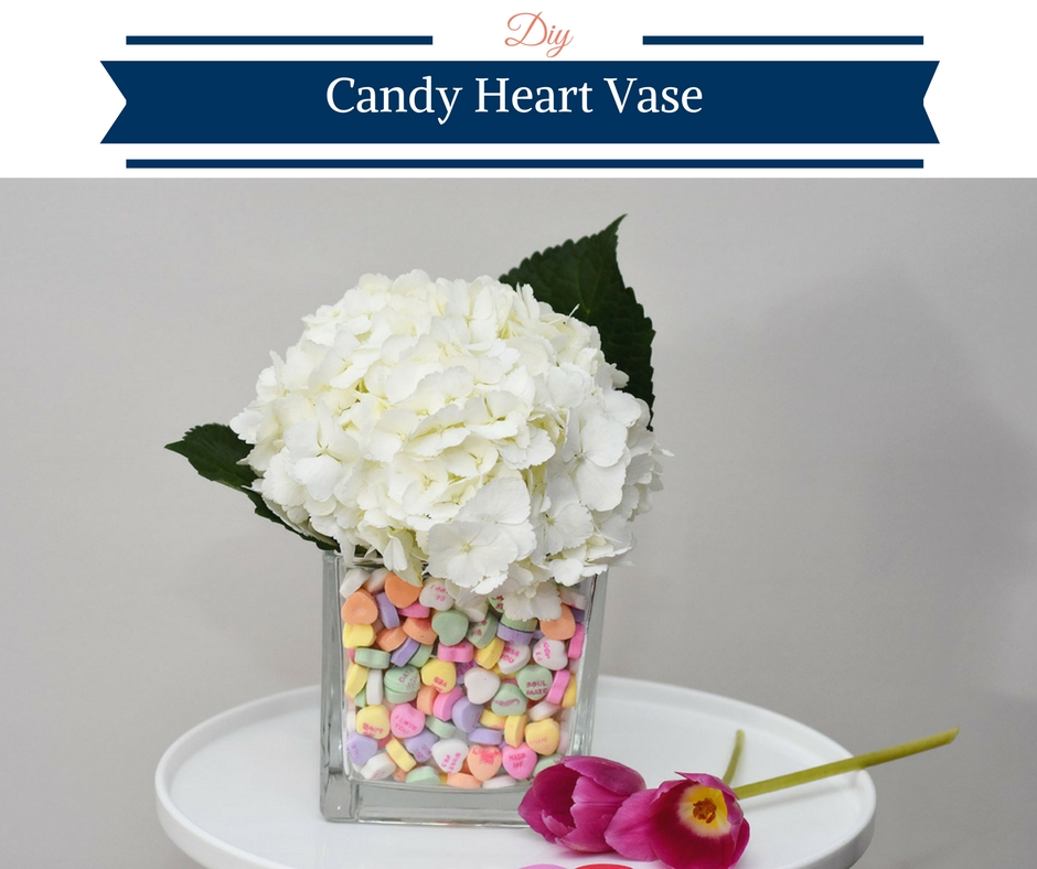 Diy Candy Heart Vase Happy Family Blog