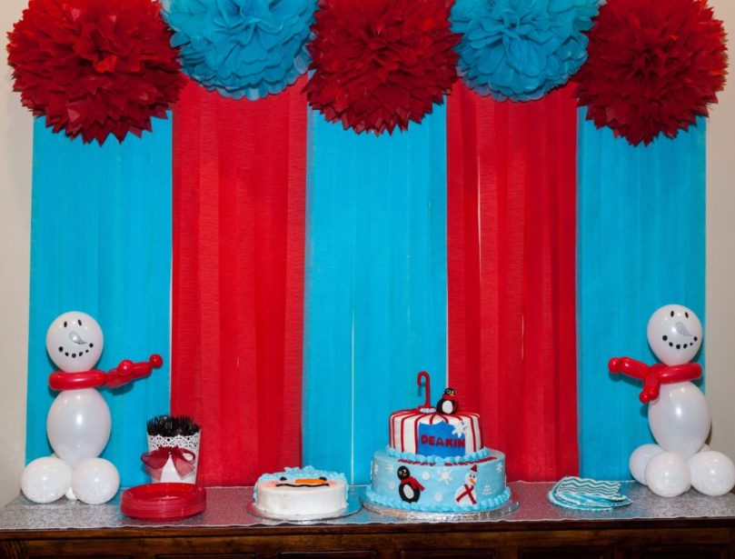 ONEderland Winter Birthday Party by Happy Family Blog