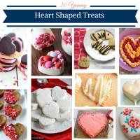 20 Yummy Heart Shaped Treats
