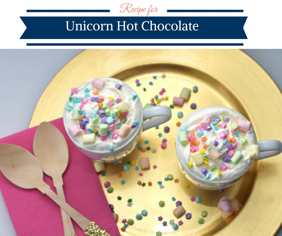 Recipe for Unicorn Hot Chocolate
