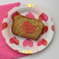 Recipe for Heart Banana Bread