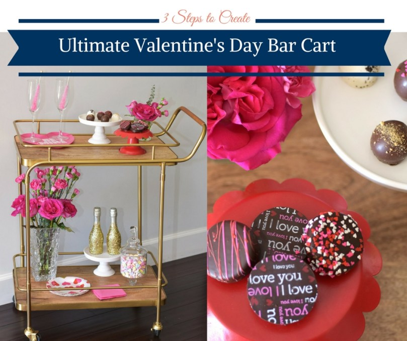 3 Steps to create a Valentine's Day Bar Car by Happy Family Blog