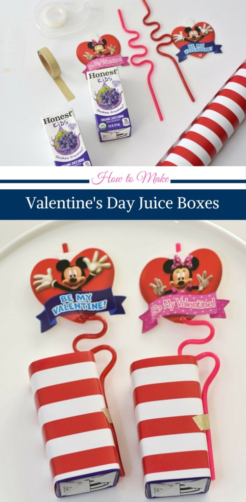 Valentine's Day Juice Boxes by Happy Family Blog