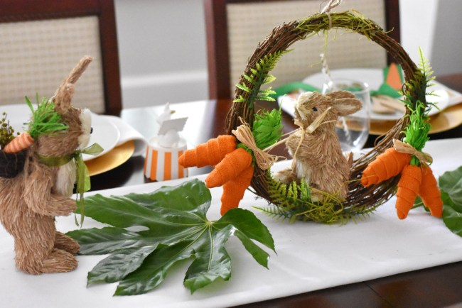 Bunny Treats Easter Bar Cart and Party by Happy Family Blog