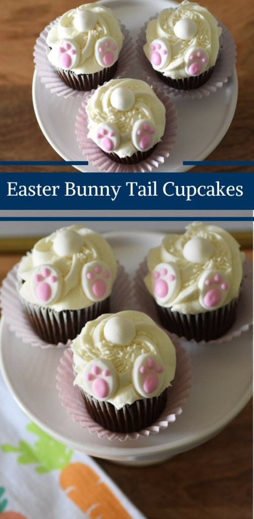 Easter Bunny Tail Cupcakes by Happy Family Blog