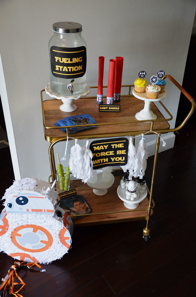 Star Wars Bar Cart