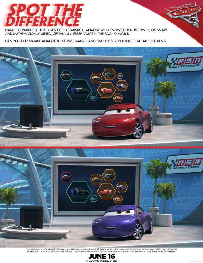 Cars 3 Printable Activities and Trailer by Happy Family Blog