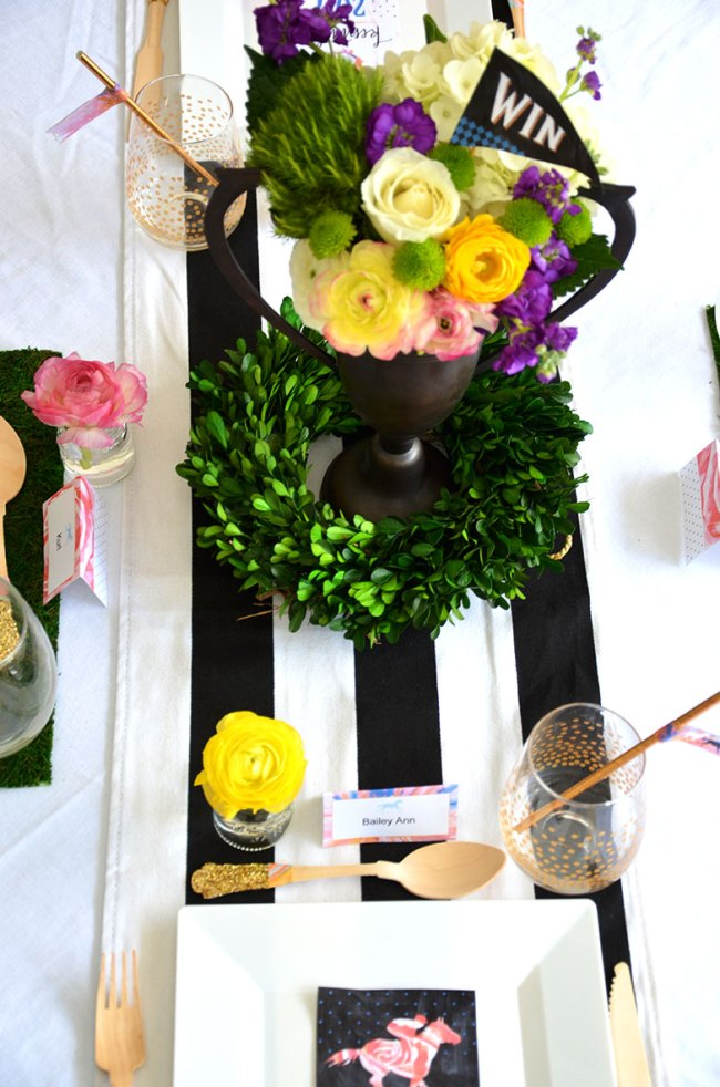Elegant Garden Party Celebrating for The Kentucky Derby by Happy Family Blog