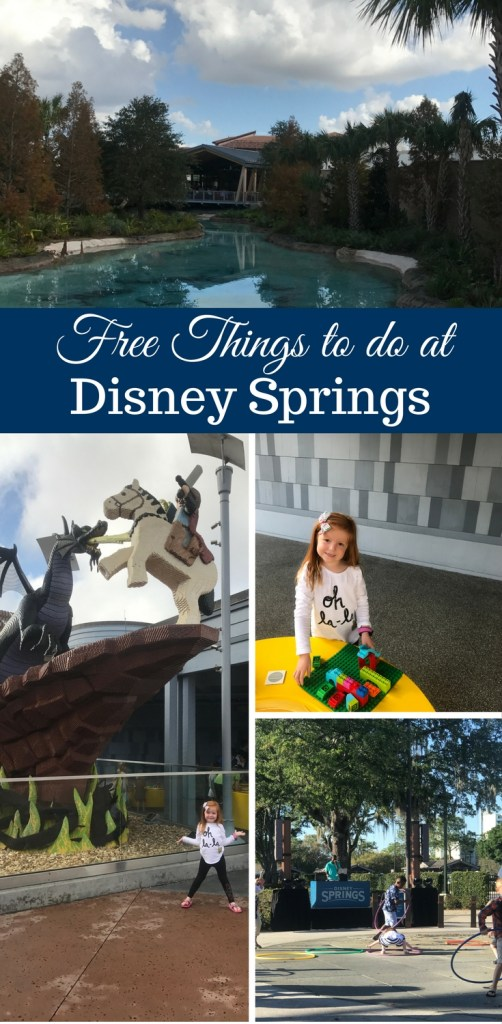 Free Things to do at Disney Springs by Happy Family Blog