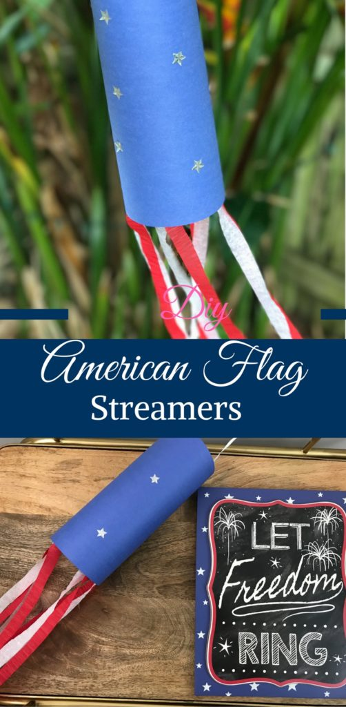 DIY American Flag Streamers by Happy Family Blog