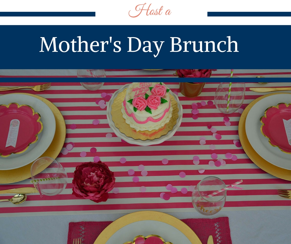 Host a Mother's Day Brunch