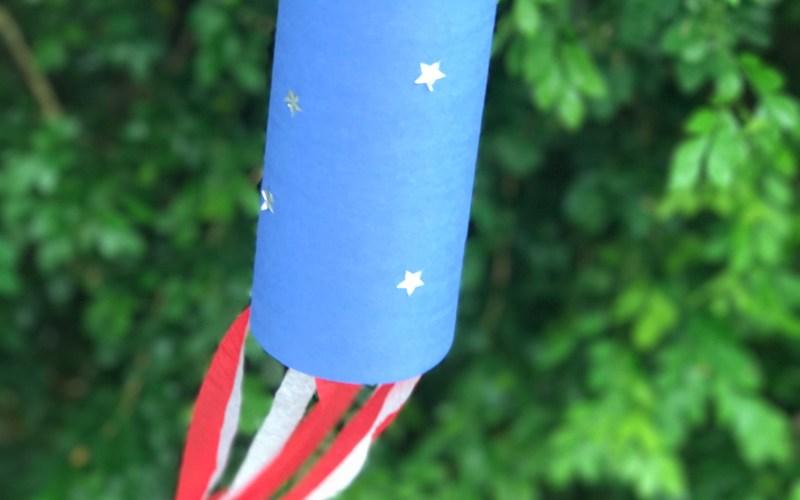 American Flag Streamers