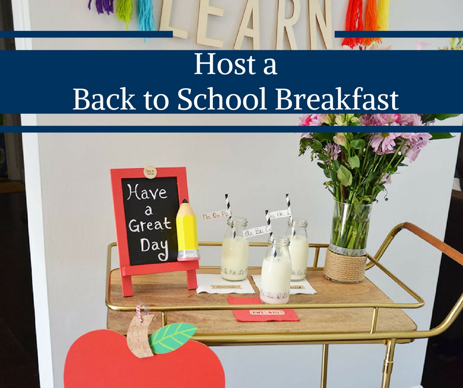 Host a Back to School Breakfast