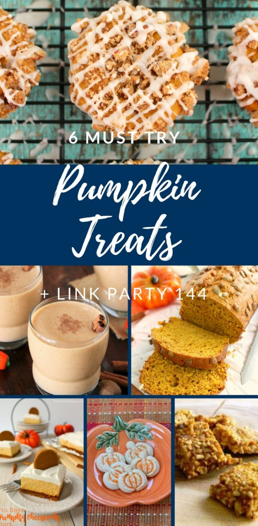 6 Must Try Pumpkin Treats by Happy Family Blog