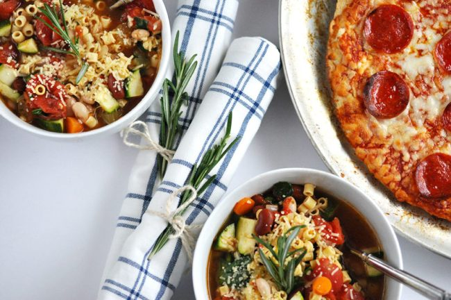 Recipe for Minestrone Soup in the Crock-Pot by Happy Family Blog