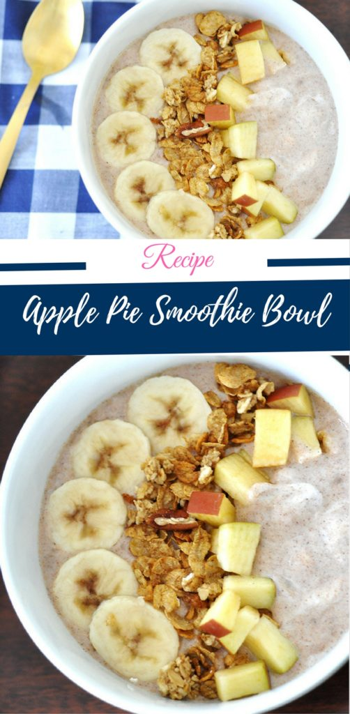 Recipe for Apple Pie Smoothie by Happy Family Blog
