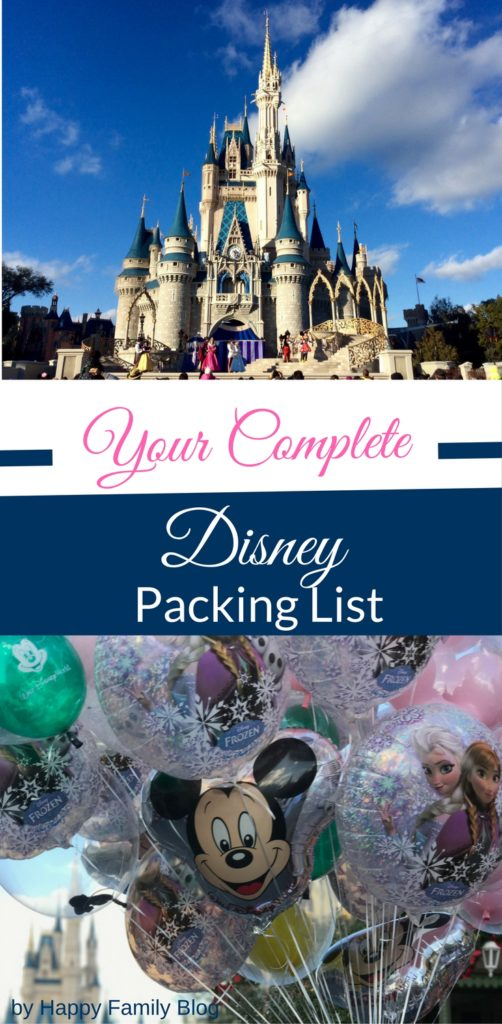 Your Complete Packing Checklist for Disney by Happy Family Blog