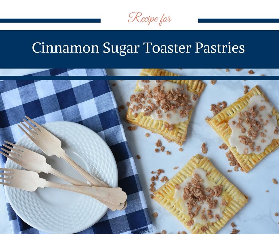 Homemade Cinnamon Sugar Toaster Pastries