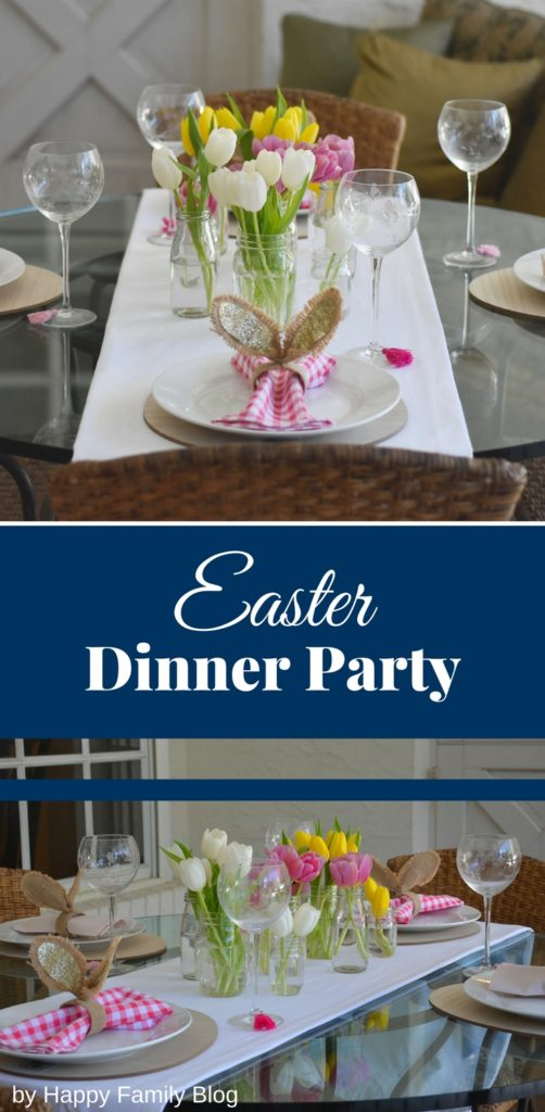 easter party, easter party themes, easter party food ideas, easter party decorations, easter party decoration ideas, easter dinner party, easter centerpieces, Easter tulips