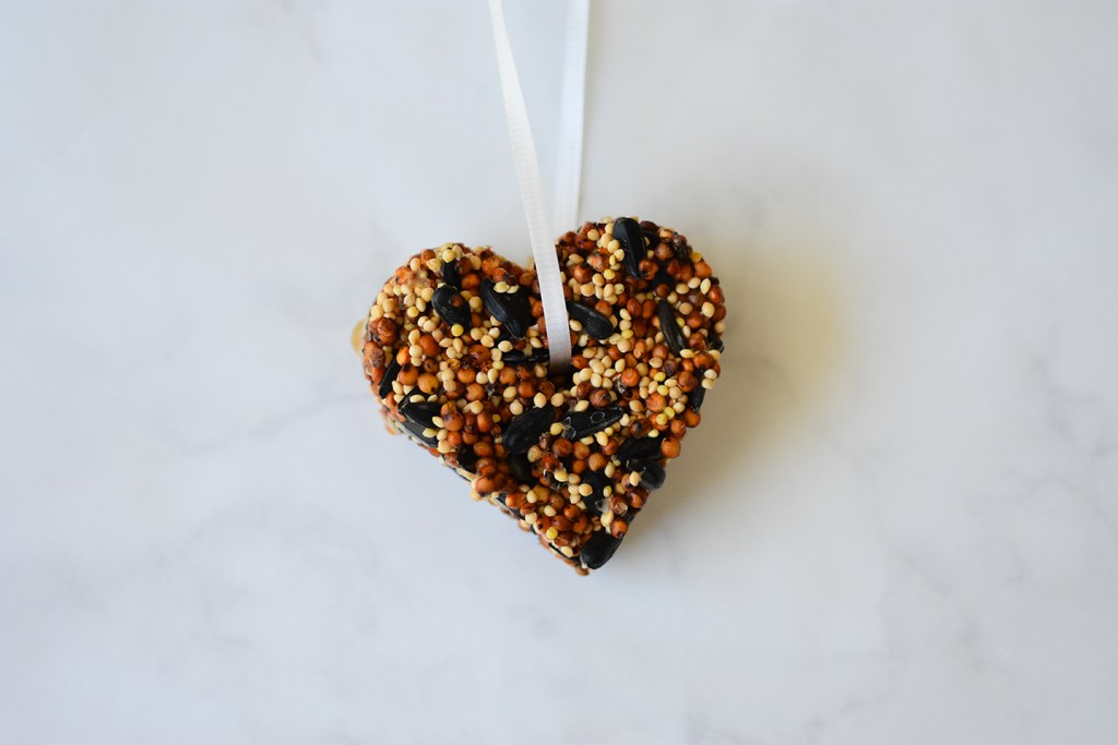How to make Bird Seed Ornaments