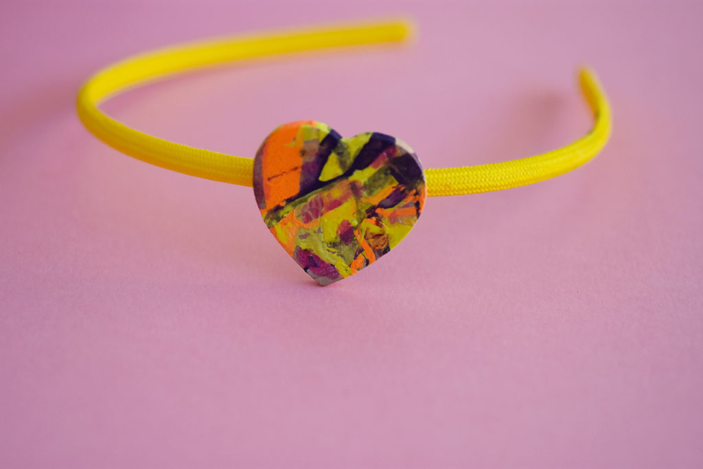 Colorful Heart Hair Accessories