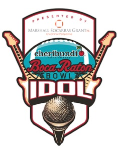 Boca Raton Bowl Idol Competition