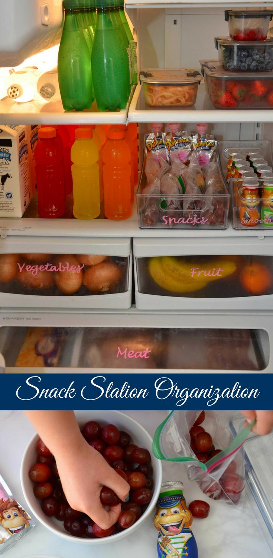 Snack Station Organization