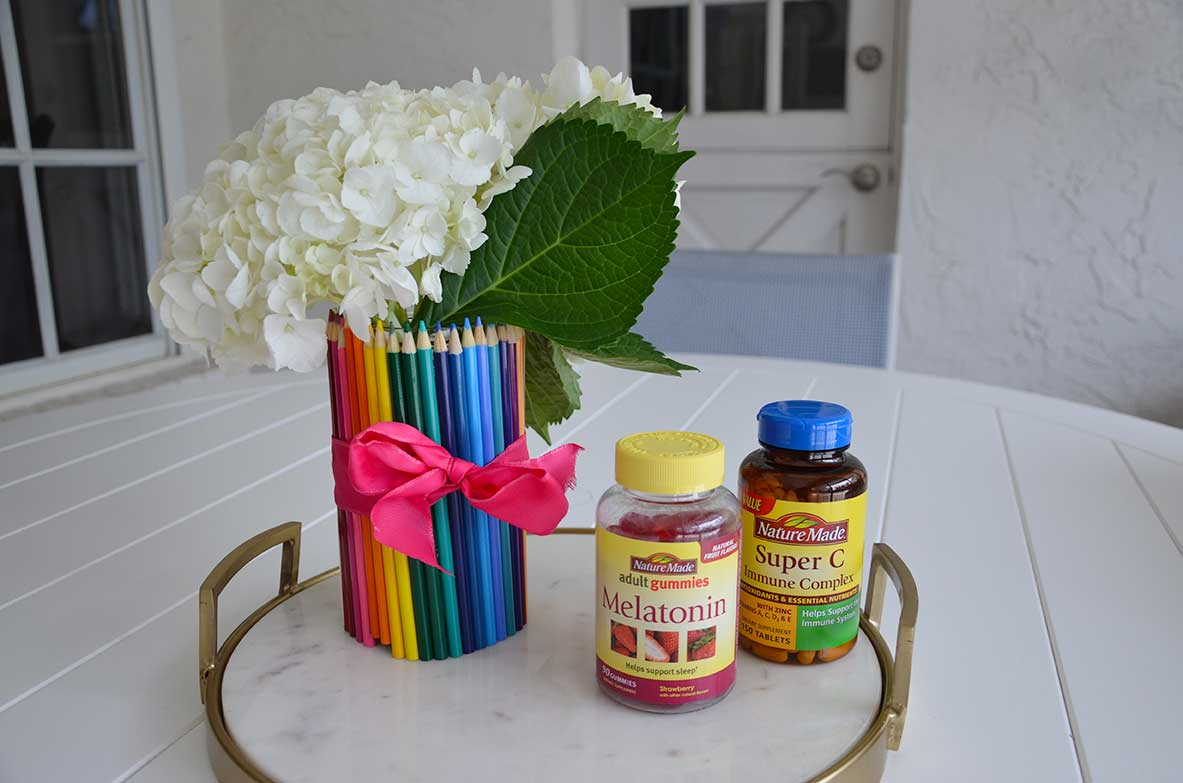 Teacher Gift Ideas: DIY Pencil Vase