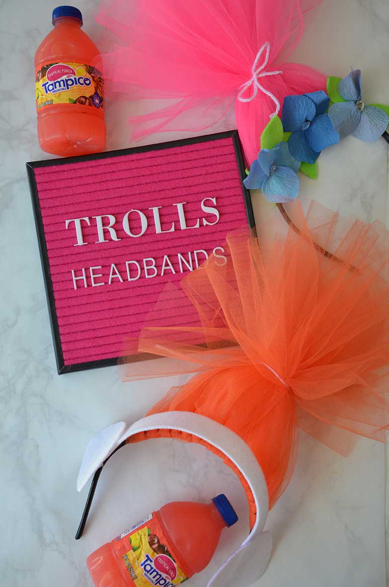 Trolls DIY Headband