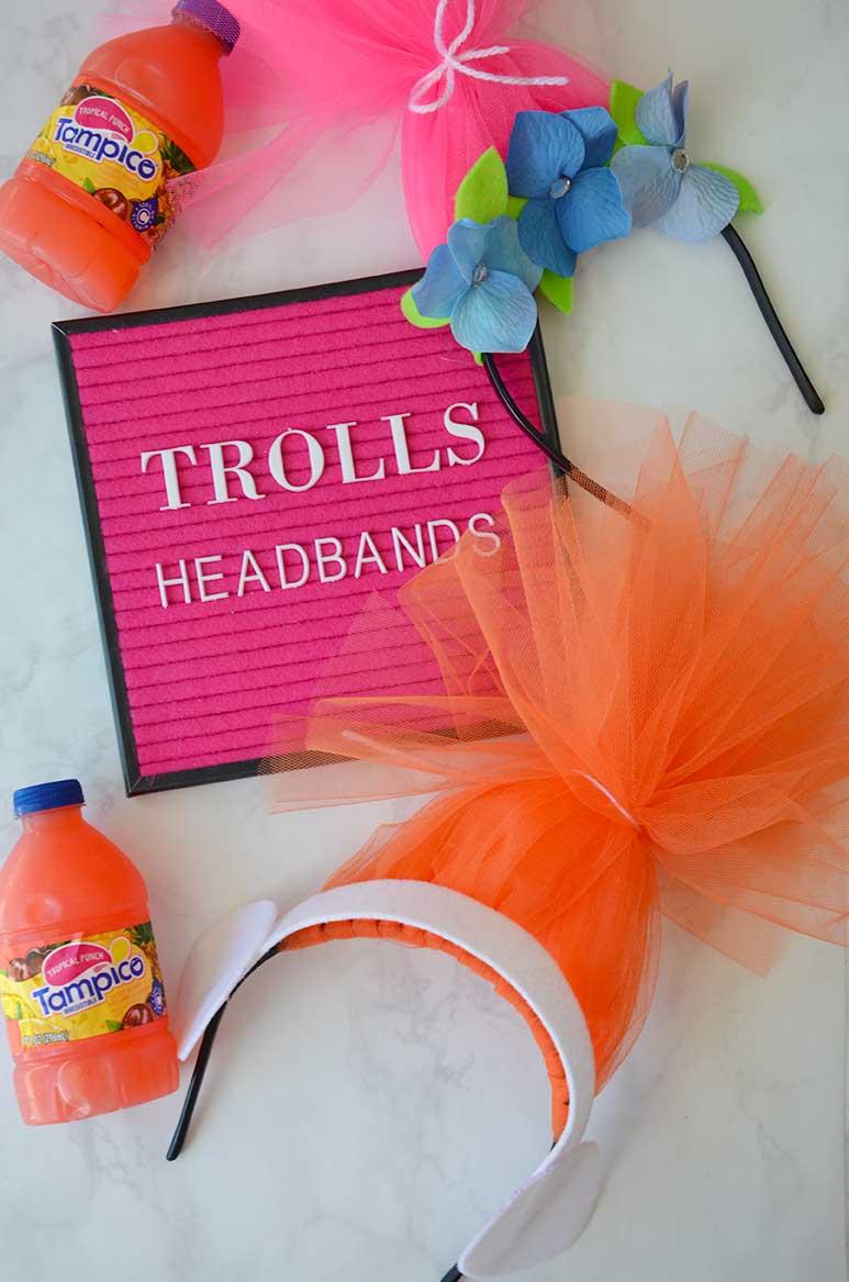 DIY Heabband for Trolls