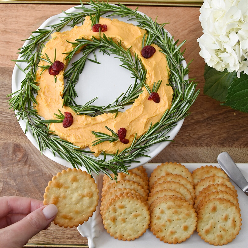 Cheese Wreath Recipe