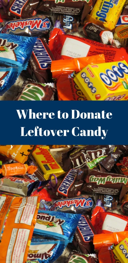 Where to Donate Leftover Candy