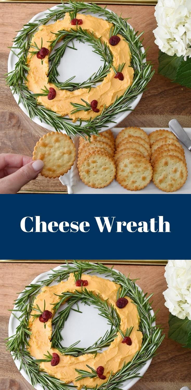 Holiday Cheese Wreath Recipe Happy Family Blog