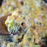 Vegetarian Chicken Broccoli Rice Casserole
